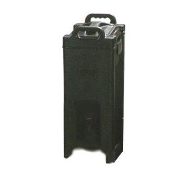 Carlisle XT500003 Cateraide XT Beverage Server, 5 Gallon, Insulated, Polyethylene, Black