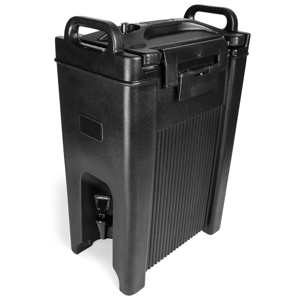 Carlisle XT500003 5-gal Beverage Server - Insulated, Polyethylene, Black