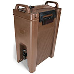 Carlisle XT500001 Cateraid Insulated Equipment, 5 Gallon Beverage Dispenser, Brown