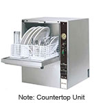"Jet Tech F-14 Compact Countertop Glass Washer - Hi-Temp, Front Loading, 24x20x20"", 115v"