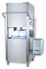 Jet Tech F-22C Door Type Dishwasher w/ Booster, 52-Racks Per Hour, Export