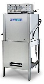 Jet Tech X35C Dishwasher, Single, Door Type, Low Temp, 37 Racks/Hr