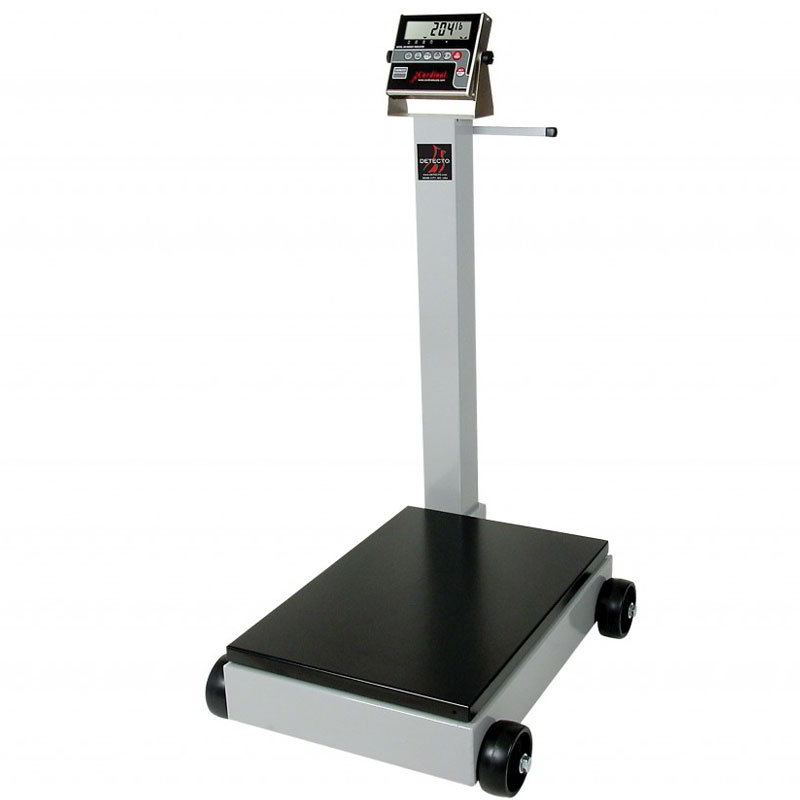 Detecto 5852F-210 500-lb Digital Portable Scale w/ 210-Weight Display Indicator
