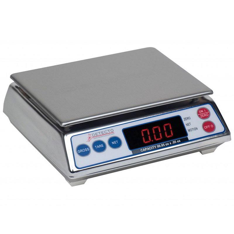 Detecto AP-4K Top Loading Scale w/ Digital Display, 3999 x 1-g Capacity