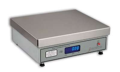Detecto AS-400D Point of Sale Counter Scale w/ .5-in Florescent Display, 100-lb x .5-oz