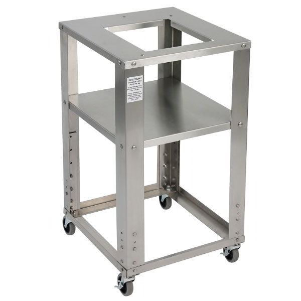 """Detecto CART2018 Portable Bench Scale Cart w/ 20x18"""" Platform, Stainless"""