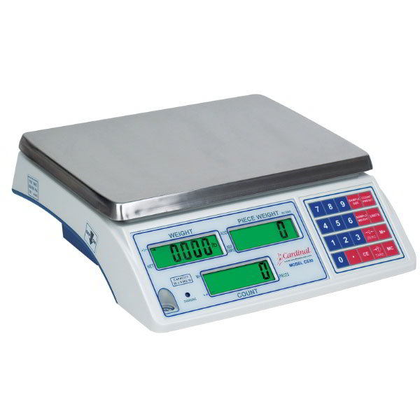 Detecto CS-30 30-lb Inventory Counting Scale - Count Accumulator, 110-240v