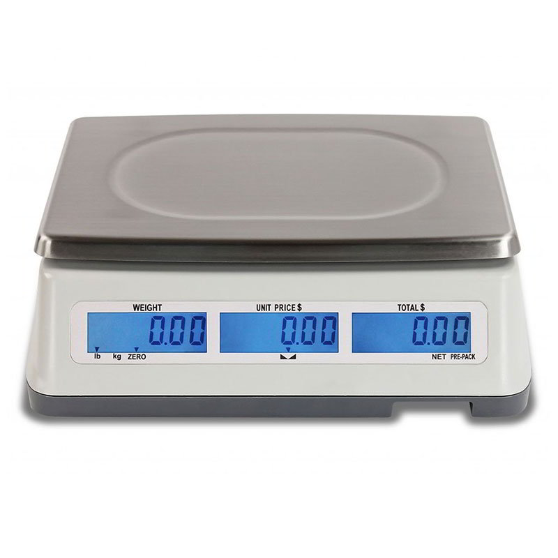 Detecto D60 Digital Price Computing Scale w/ Front & Back Display, 60 x .02-lb