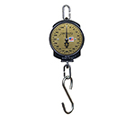 Detecto 11S200H 7-In Single Dial Hanging Scale w/ Cast Iron Housing, 200 x .5-lb