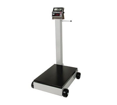 Detecto 8852F-204 Digital Receiving Scale, 1-in LCD Display, LB/KG Switch, 1000 x .5-lb