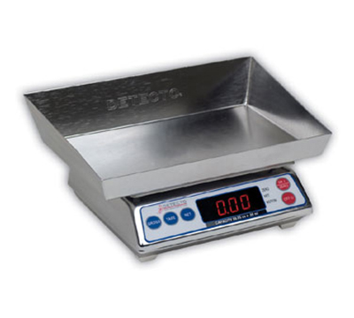 Detecto AP-4K Top Loading Scale w/ Digital Display, 3999 x 1-g Capacity