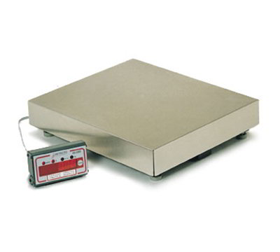 Detecto AS-330D Top Loading Scale w/ .5-in LED Display, 150 x .05-lb Capacity
