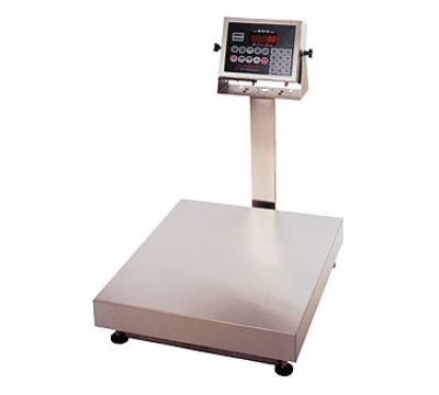 Detecto EB-150-210 Digital Bench Scale, lb/kg Conversion, 210 Weight Display, 150 x .05-lb