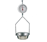 Detecto MCS-40DF Hanging Fish & Vegetable Scale w/ 8-in Double Dial, 40-lb.
