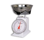 Detecto T50B Top Loading Dial Portion Scale w/ Stainless Bowl, 50-lb x 2-oz