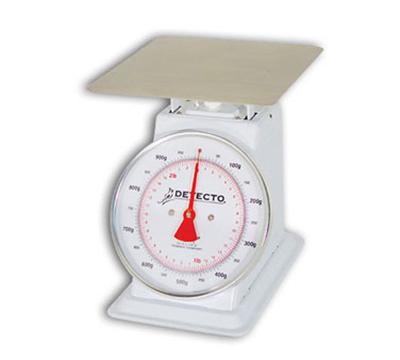 Detecto T25KP Top Loading Dial Portion Scale w/ Enamel Housing, 55-lb x 2-oz