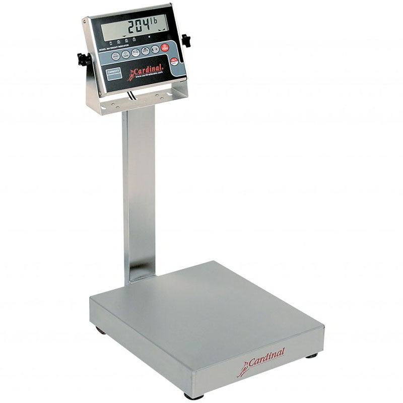Detecto EB-15-204 Digital Bench Scale, lb/kg Conversion, 204 Weight Display, 15 x .005-lb
