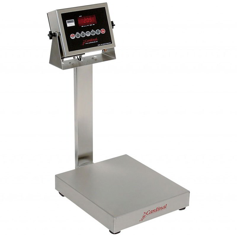 Detecto EB-300-205 Digital Bench Scale, lb/kg Conversion, 205 Weight Display, 300 x .1-lb