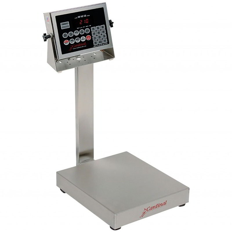 Detecto EB-60-210 Digital Bench Scale, lb/kg Conversion, 210 Weight Display, 60 x .02-lb
