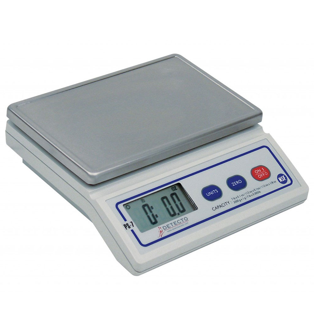 """Detecto ET7 Stainless Extended Tray for PS-7 Scale, 9.75 x 6.75"""""""