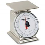 "Detecto PT-1 Dial Type Portion Scale, 6"" Fixed Dial, 16-oz - 1/4-oz"
