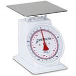 Detecto T25 Top Loading Dial Portion Scale w/ Enamel Housing, 25-lb x 1-oz