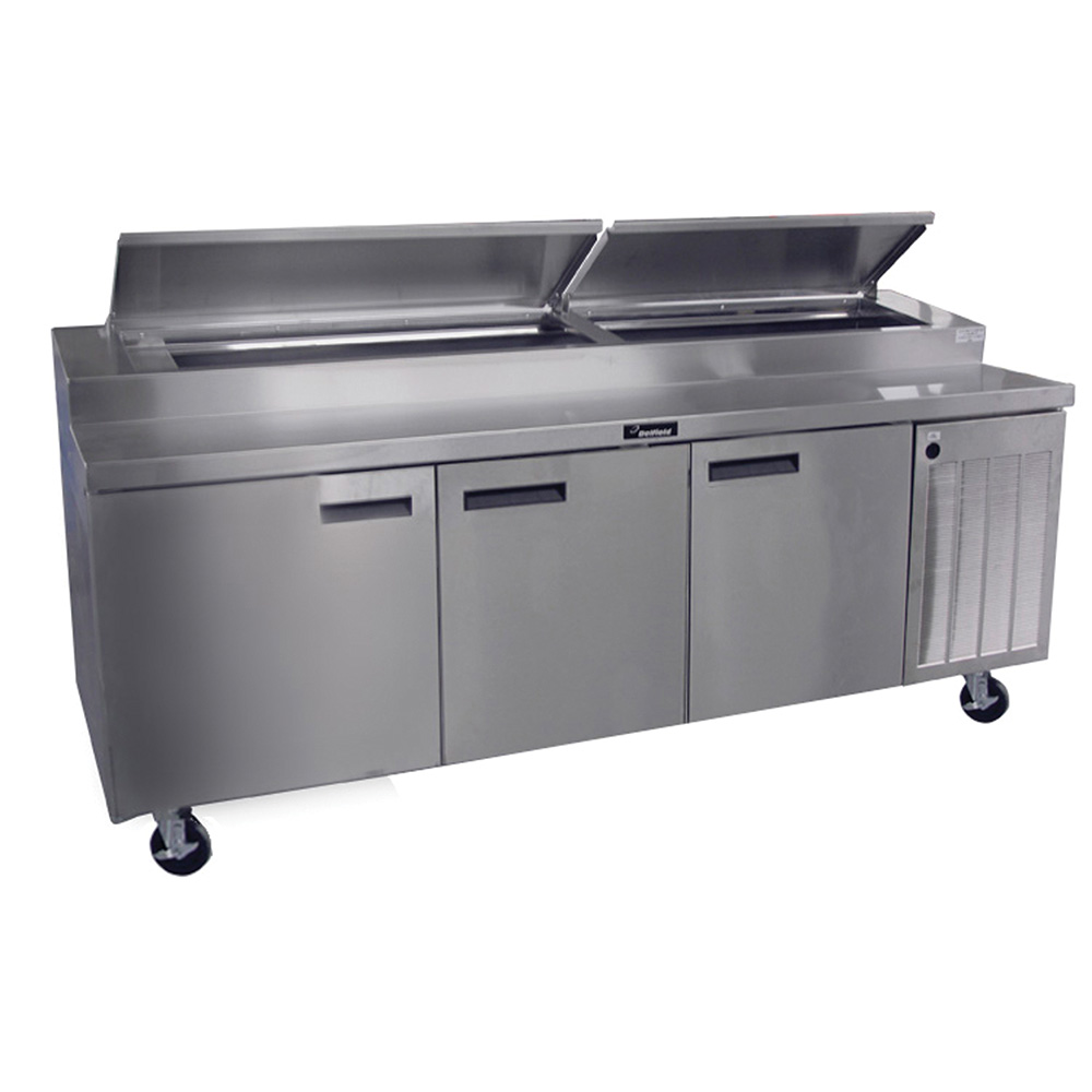 Delfield 18699ptbm 99 pizza prep table w refrigerated for Super table ld 99