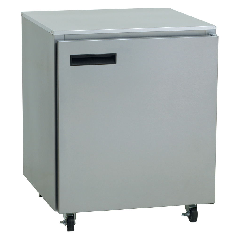 Delfield 407 5.7-cu ft Undercounter Freezer w/ (1) Section & (1) Door, 115v