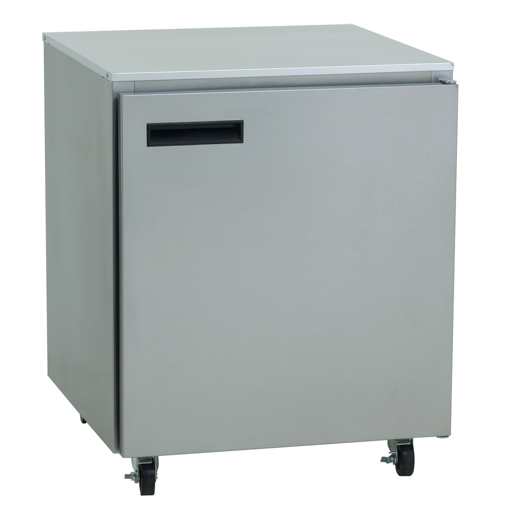Delfield 407-CA 5.7-cu ft Undercounter Freezer w/ (1) Section & (1) Door, 115v