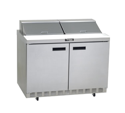 "Delfield 4448N-12 48"" Sandwich/Salad Prep Table w/ Refrigerated Base, 115v"