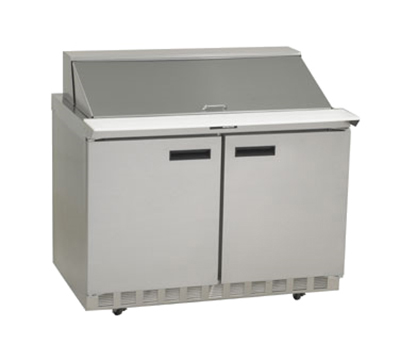 "Delfield 4448N-18M 48"" Sandwich/Salad Prep Table w/ Refrigerated Base, 115v"