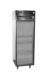 Delfield 6025XL-G Reach In Refrigerator, 1 Section/Full Glass Door, 20 Cu Ft