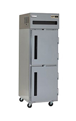 "Delfield 6125XL-SH 25.5"" Single Section Reach-In Freezer, (2) Solid Doors, 115v"
