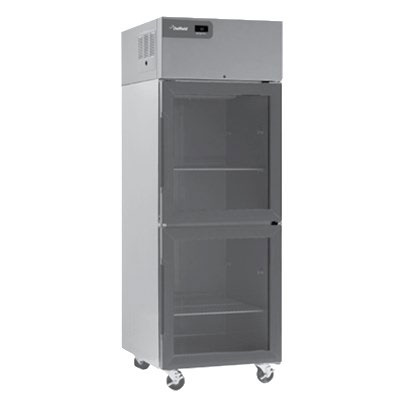 """Delfield CSR2NP-GH 48"""" Two Section Reach-In Refrigerator, (4) Glass Doors, 115v"""