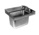 Delfield 242 Undercounter Sink & Faucet, 18 x 13.5 x 12.75-in