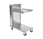 "Delfield CT-1221 Single Self-Elevating Tray Dispenser for 12 x 21"" Trays, Cantilever Style"