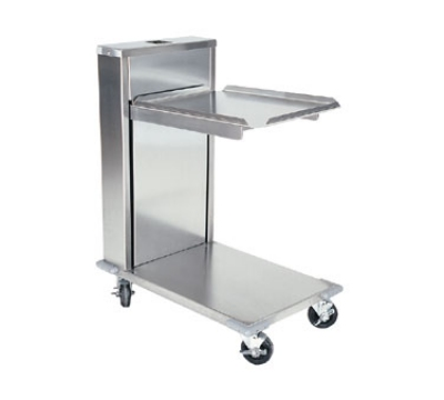 "Delfield CT-1418 Single Self-Elevating Tray Dispenser for 14 x 18"" Trays, Cantilever Style"