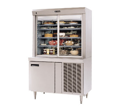 "Delfield F15SR48N 48"" Self Service Deli Case w/ Straight Glass - (5) Levels, 115v"