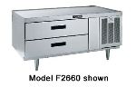 "Delfield F2748 48"" Chef Base w/ (2) Drawers - 115v"