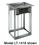 Delfield LT2-1014 Dual Drop-In Open Tray Dispenser w/ Self-Leveling for 11 x 15""