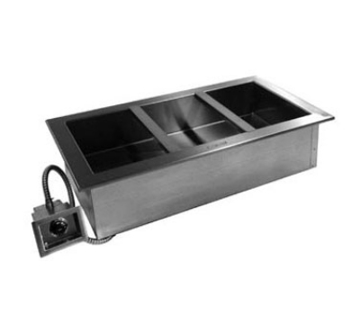Delfield N8845230 Drop-In Hot food well for 3-Pan w/ Thermostatic Control, 230/1 V