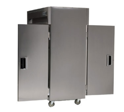 Delfield SSHPT1-SH 1-Section Pass-Thru Hot Food Cabinet w/ Half Solid Door, 24.96-cu ft