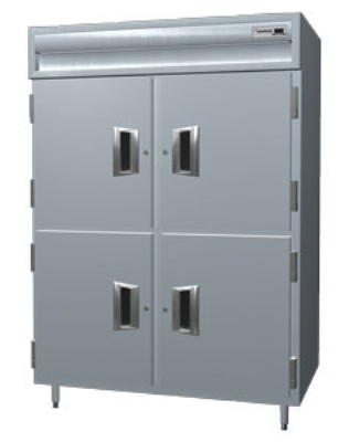Delfield SMH3-SH 3-Section Reach-In Hot Food Cabinet w/ Solid Half, 78.89-cu ft, 120-208/230V