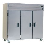 Delfield SMH3-S 3-Section Reach-In Hot Food Cabinet w/ Solid Full, 78.89-cu ft, 120-208/230V