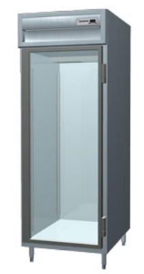 Delfield SSH1-GH 1-Section Hot Food Cabinet w/ Half Glass Door, 24.96-cu ft, Stainless