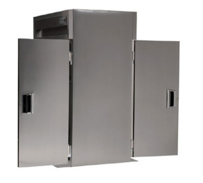 Delfield SAHRT1-S Single Roll-Thru Hot Food Cabinet w/ Full Solid Door, 38.58-cu ft