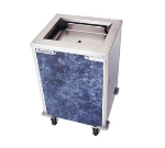 Delfield T2-1221H Enclosed Mobile Tray Dispenser w/ Self-Elevating, Heated for 12 x 21""