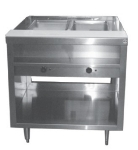 Delfield EHEI48L 208 48-in Hot Food Table w/ 8-in Cutting Board, Plate Shelf, 208V