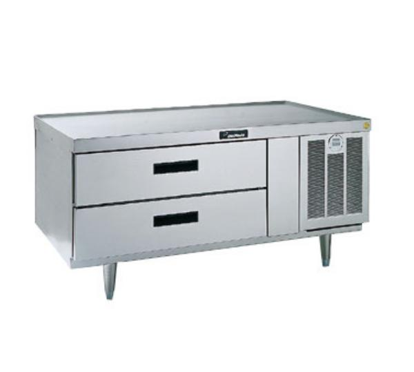 Delfield F2660 60 in Freezer Lo-Profile Equipment Stand 1 Section/2 Drawers Non-Spill Edges Restaurant Supply