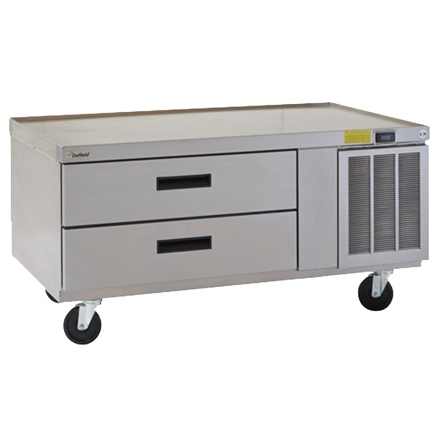 "Delfield F2956CP 56.25"" Chef Base w/ (2) Drawers - 115v"